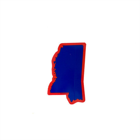 Mississippi Oxford Gameday Sticker