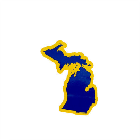 Michigan Ann Arbor Gameday Sticker
