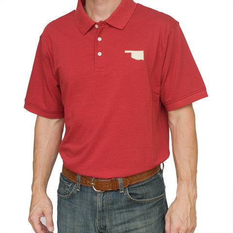 Oklahoma Norman Gameday Polo Crimson