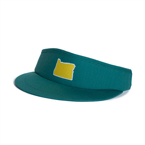 Oregon Eugene Gameday Golf Visor Green