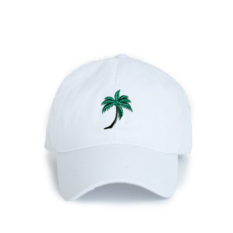 State Traditions Palm Tree Hat White
