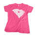 South Carolina Love Women's T-Shirt Pink