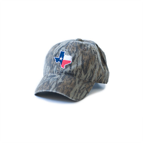 Texas Traditional Hat Bottomland Camo
