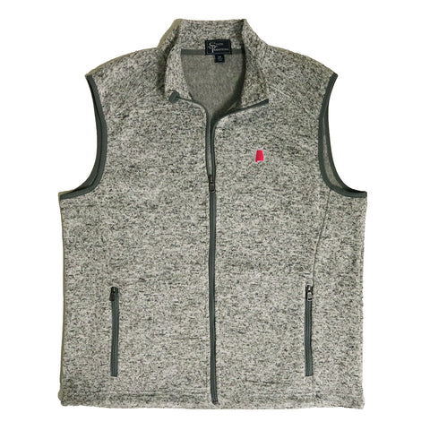 Alabama Tuscaloosa Gameday Heather Sweater Vest