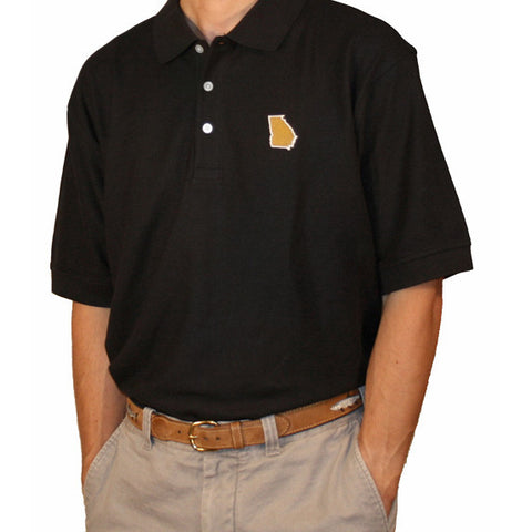 Georgia Atlanta Gameday Polo Navy