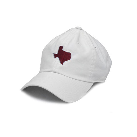 Texas College Station Gameday Hat White