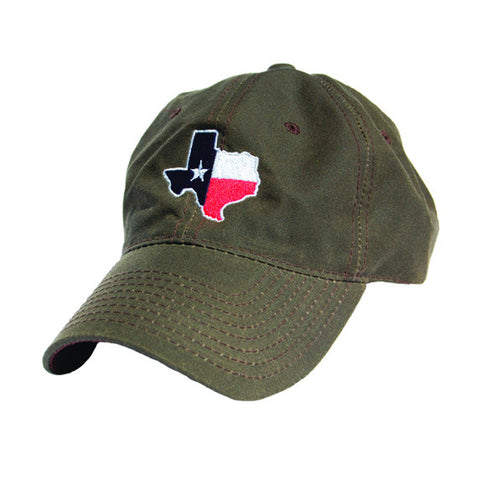 Texas Traditional Hat Waxed Canvas Brown