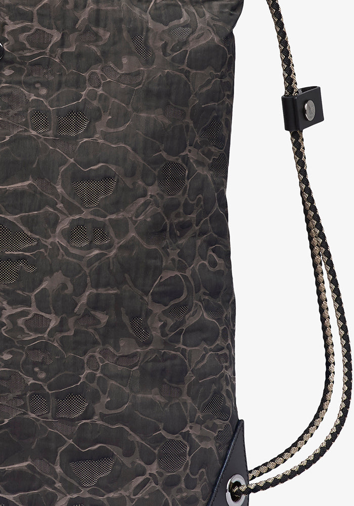 M/S Drawstring - Camo Jacquard/Black collection 1