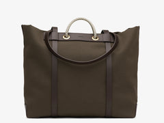 M/S Seaside - Army/Dark Brown -  Totebags SS19 - Mismo