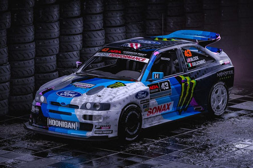 "KEN BLOCK LAUNCHES ALL-NEW—AND WILD—FORD ESCORT RS COSWORTH WIDEBODY RALLY/GYMKHANA CAR, AKA ""COSSIE V2,"" FOR HIS UPCOMING 2019 ""COSSIE WORLD TOUR"" AND YOUTUBE SERIES"