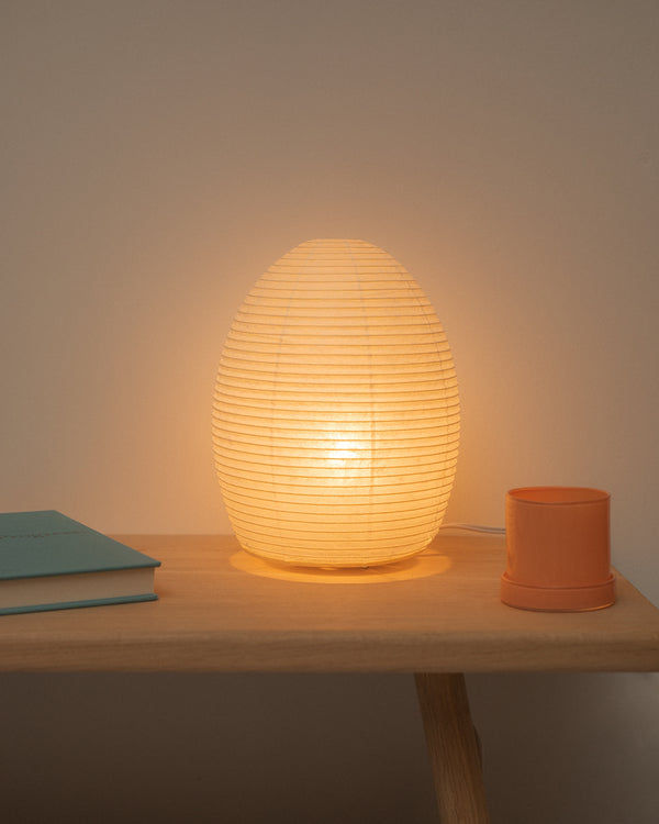 Asano Paper Moon Lamp 01 - The Egg