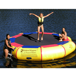 "13 Foot  ""Bounce & Splash"" Water Bouncer by Island Hopper"