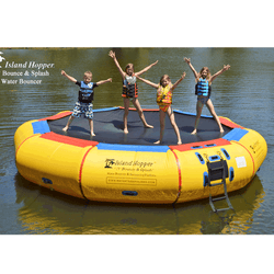 "17 Foot  ""Bounce & Splash"" Water Bouncer by Island Hopper"