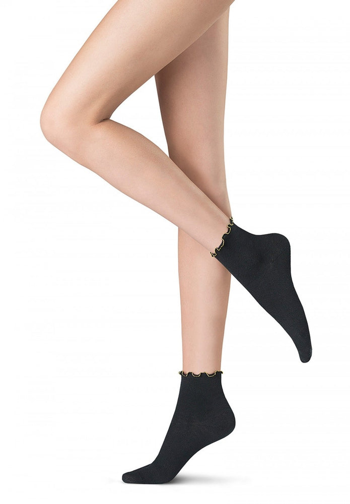 Oroblu ABSTRACT CHAIN Socks (Italian Hosiery)