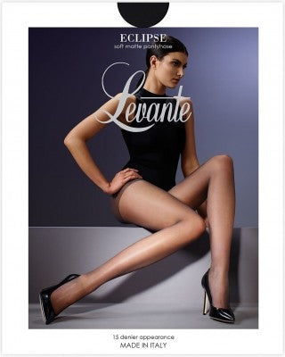 Levante Italian Hosiery Eclipse Sheer 15 Denier Pantyhose/Tights - Starts with Legs
