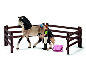 Horse care set, Andalusian