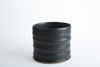 Gilles le Corre - Cylinder Pot, tall and black.