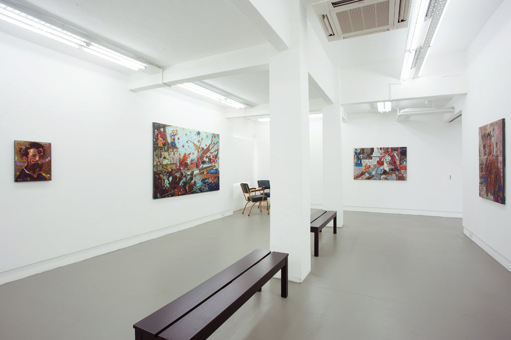 Ronson Culibrina, Blood Compact, Installation View, 2016, Michael Janssen Singapore