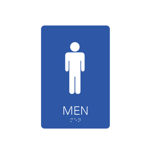 Restroom Signs - Men