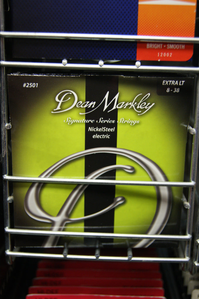Dean Markley 2501 Signature Series extra light 8-38 electric guitar strings (2 PACKS)