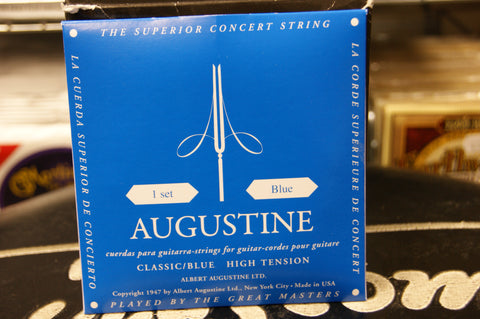 Augustine classical guitar strings high tension blue pack (2 PACKS)