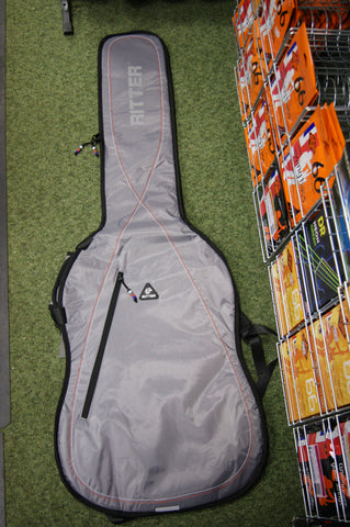 Ritter RGP2-B/SRW padded bass guitar bag in silver