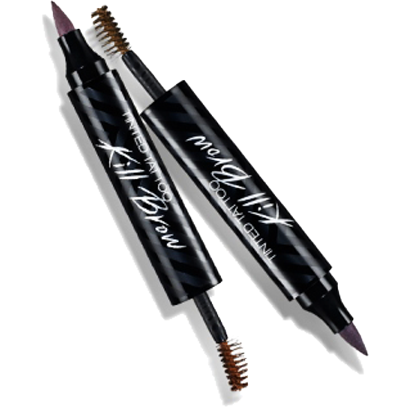 CLIO Eyebrow #1 CLIO, Tinted Tattoo Kill Brow, 2in1 Eyebrow Pen & Mascara - KollectionK