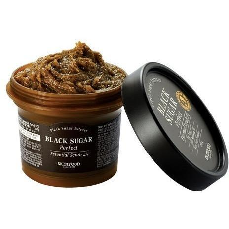 SKIN FOOD Face Mask SKIN FOOD Black Sugar Perfect Essential Scrub 2X - KollectionK