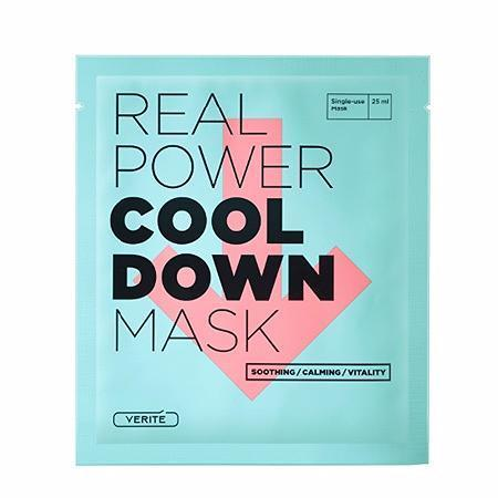 VERITE Sheet Mask COOL_DOWN VERITE Real Power Mask - KollectionK