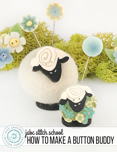 JABC Stitch School | How to make a Button Buddy