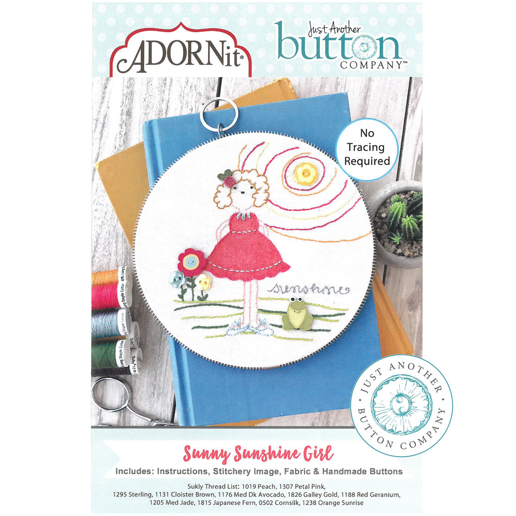 Embroidery Kit - Sunny