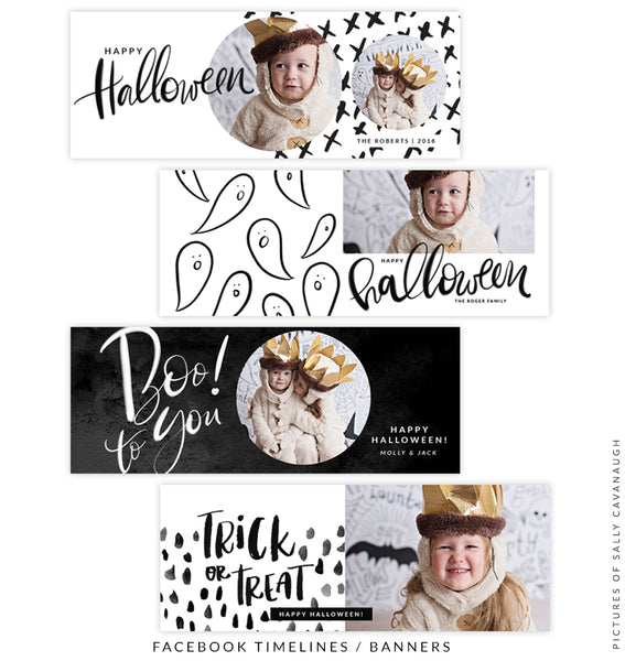 Facebook timeline cover | Halloween Party
