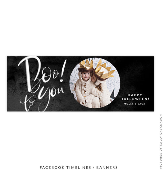 Facebook timeline cover | Boo to You