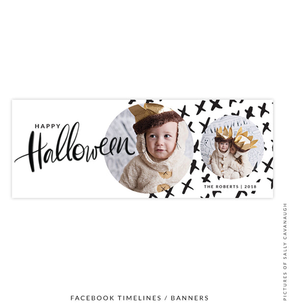 Facebook timeline cover | Happy Halloween