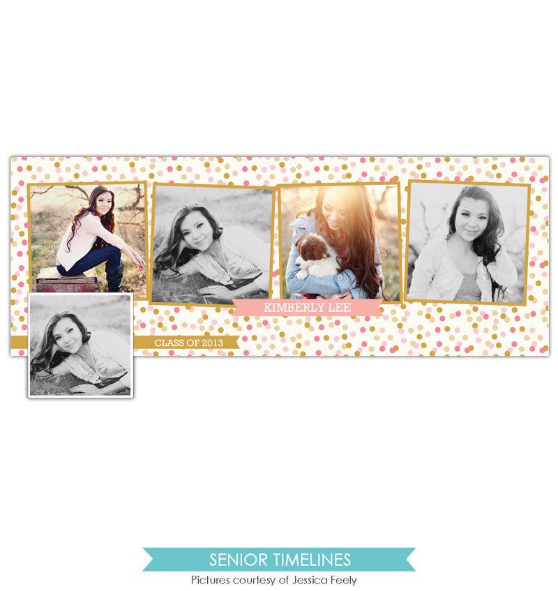 Facebook timeline cover | Happy Confetti