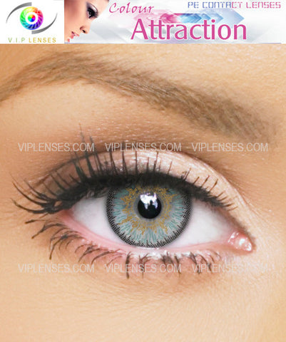 Color Attraction Aquamarine Contact Lenses