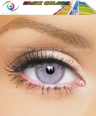 Basic Color Violet Contact Lenses
