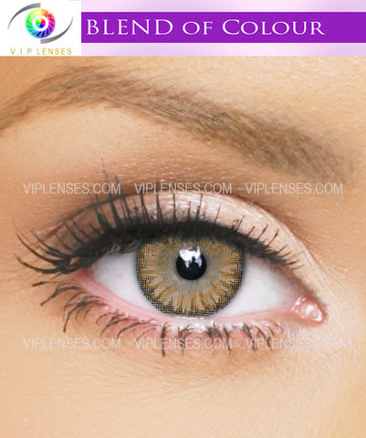 Blends Honey Contact Lenses