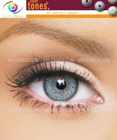 Colortones Dark Blue Contact Lenses