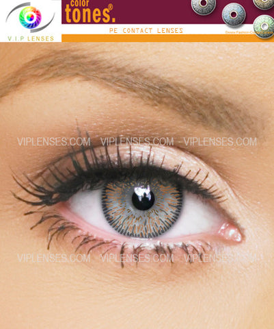 Colortones Dark Brown Contact Lenses