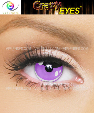 Crazy Abbey Bominable Contact Lenses