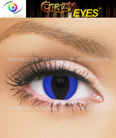 Crazy Blue Panther Contact Lenses