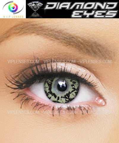 Diamond Eyes Jade Contact Lenses