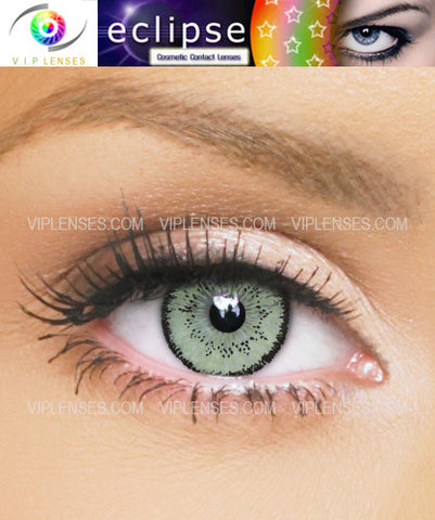 Eclipse Green Contact Lenses