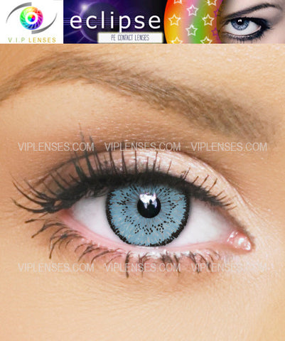 Eclipse Light Blue Contact Lenses