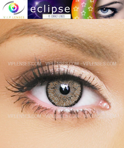 Eclipse Light Brown Contact Lenses