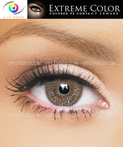 Extreme Chic Chocolate Contact Lenses