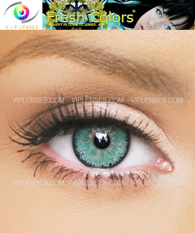 Fresh Colors Aqua Contact Lenses