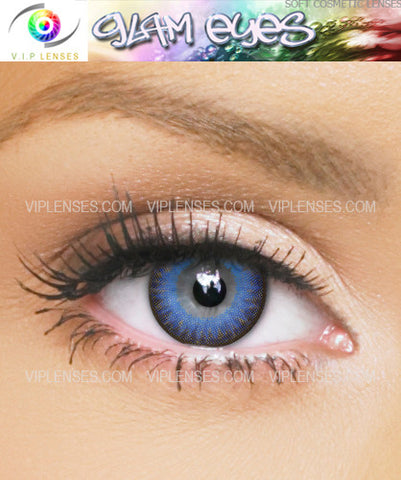 Glam Blue Contact Lenses