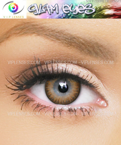 Glam Hazel Contact Lenses